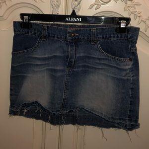 Delia's cute denim mini skirt
